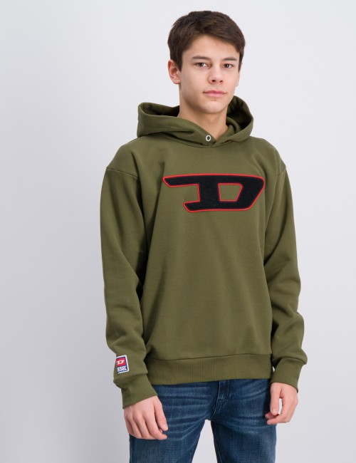 DIVISION-D OVER SWEAT-SHIRT