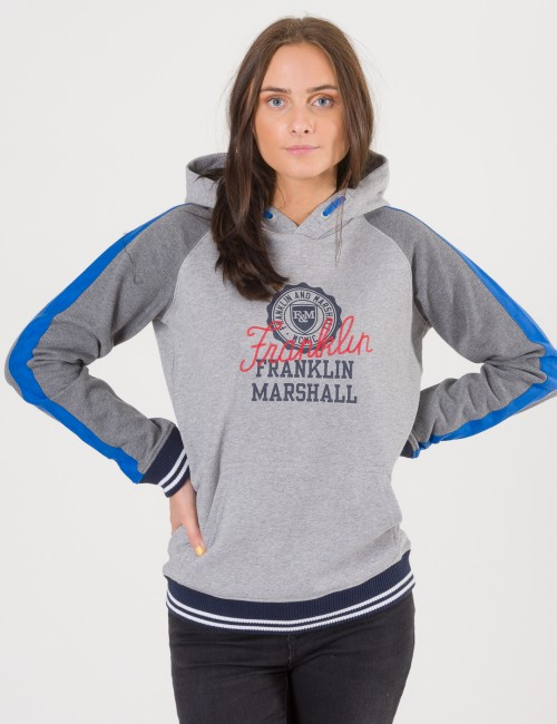 Contrast Over The Head Hoody