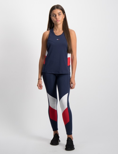 Tommy Hilfiger - SPORT COLORBLOCK TIGHTS